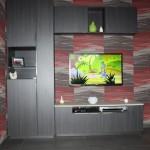 meuble tv en stratifié